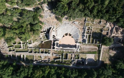 Albania: Butrint from the Air