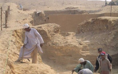 Egypt: Cemetery of Zoser