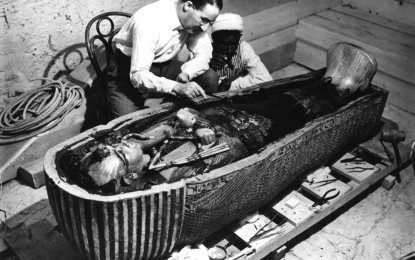 Tutankhamun Tomb Excavation Reports at Oxford