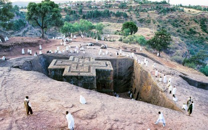 Lalibela, Ethiopa, Rock-Hewn Churches