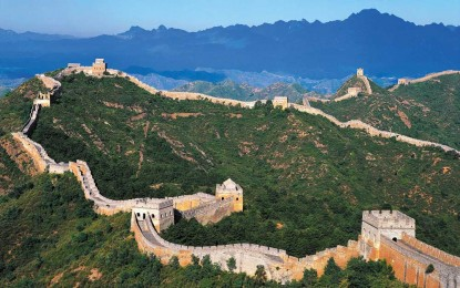 Great Wall of China: Walk Wonder of the World for Parkinson's