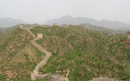 Real Wall of China