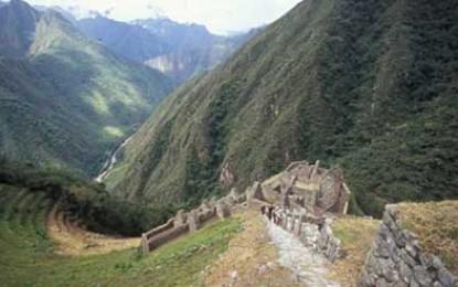Parkinson's Charity treck Peru 2008