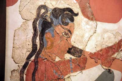 New Method of Restoring Ancient Paintings