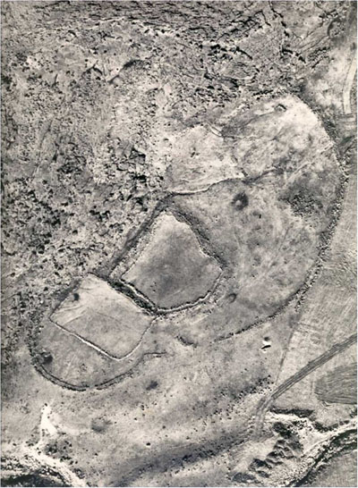 'Foot Shaped' Enclosure found in the Jordan Valley