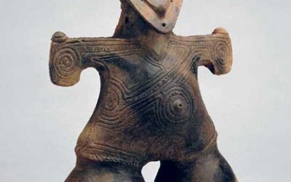 Ceramic Figures from Ancient Japan