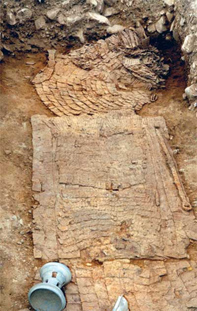 Korea, Grave of Ancient Warrior Found