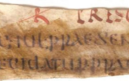 Ancient Roman Law Code Rediscovered