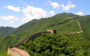 Sticky rice porridge and the Great Wall of China