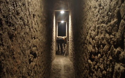 Draining Herculaneum: conserving the site