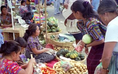 Ancient Maya marketplace