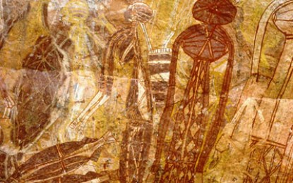 Australia's rock art threatened