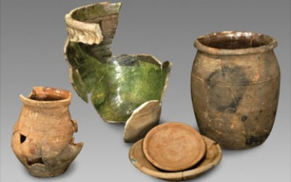 Jamestown: Captain Smith's pots