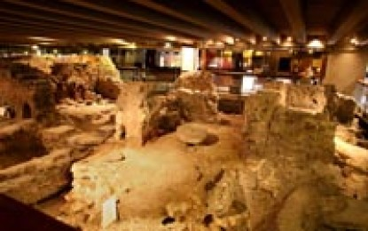 France: Paris Crypte Archaeologique