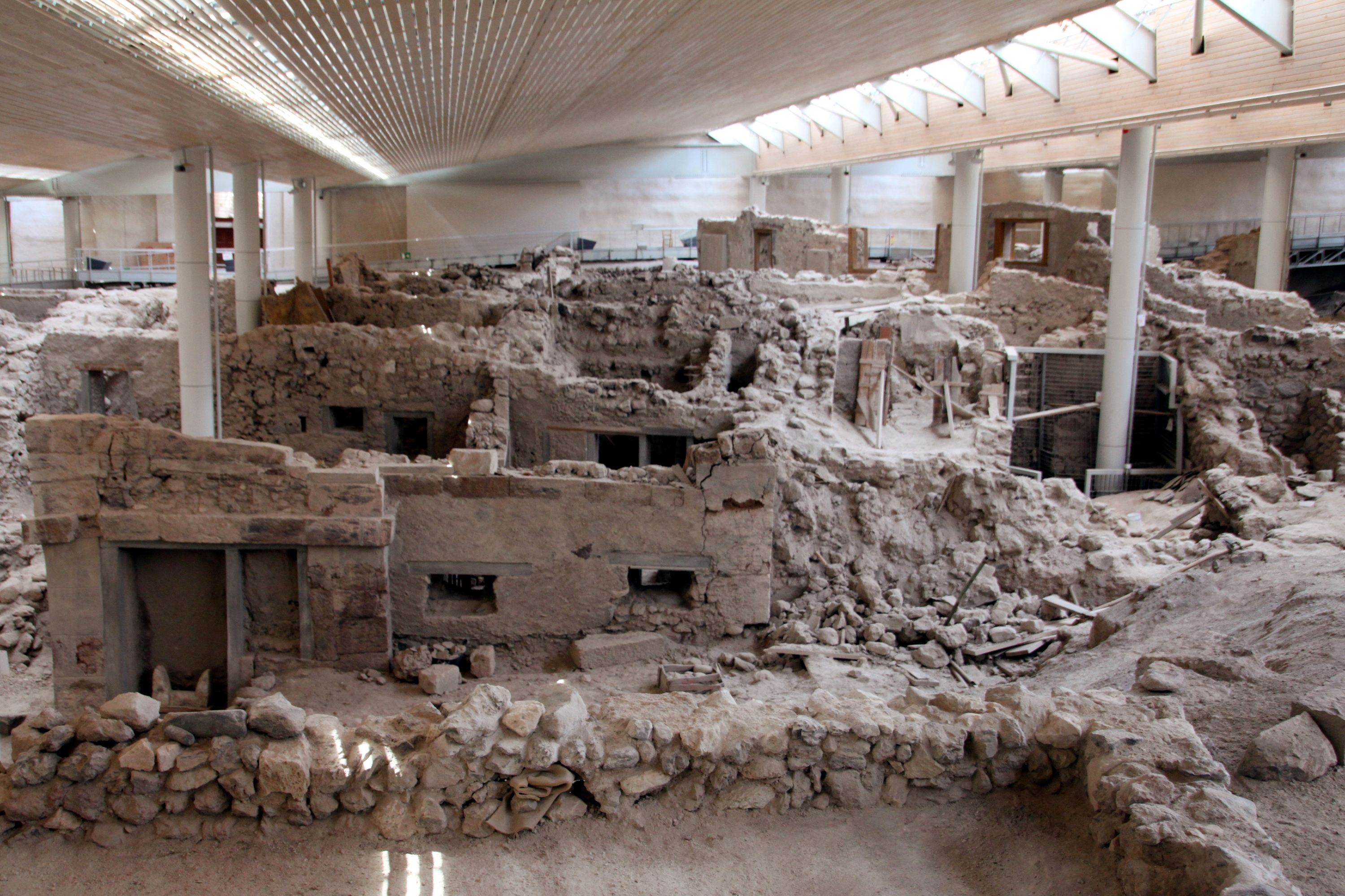 Akrotiri Reopens To The Public World Archaeology
