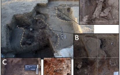 20,000-year-old huts in Jordan