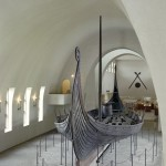 The Oseberg ship as it looks today