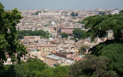 Richard Hodges travels to: Rome