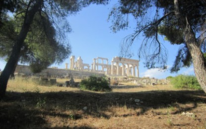 Richard Hodges travels to: Aegina