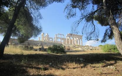 Richard Hodges travels to: Aegina