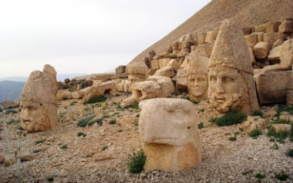 CWA travels to: Mount Nemrut