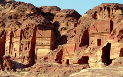 Petra: Behind the monumental façades