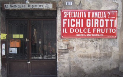 Richard Hodges travels to: Amelia, Italy