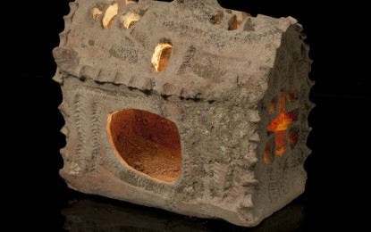 Israel's church-shaped lantern: shedding light on the past