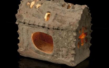 Israel's church-shaped lantern: shedding light on the past