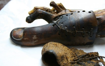 Toeing the line: the world's oldest prosthetics?