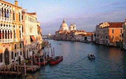 Richard Hodges travels to: Venice