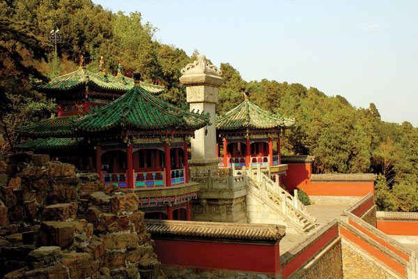 The splendid Summer Palace in Beijing