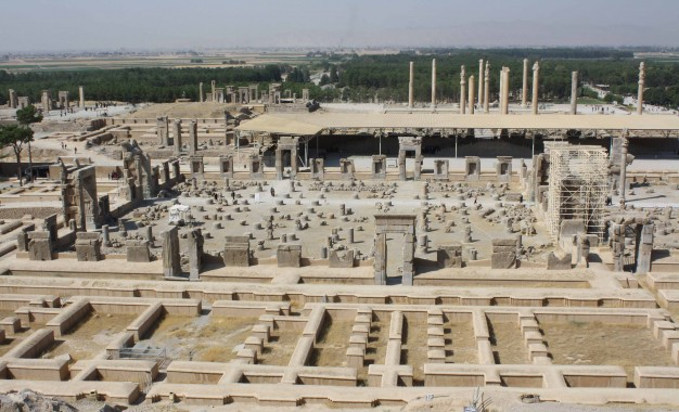 CWA travels to Persepolis