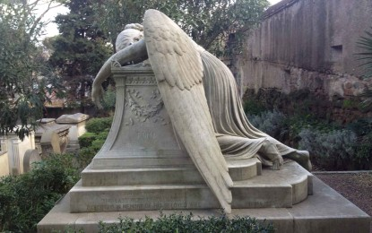 Richard Hodges travels to Rome's non-Catholic cemetery