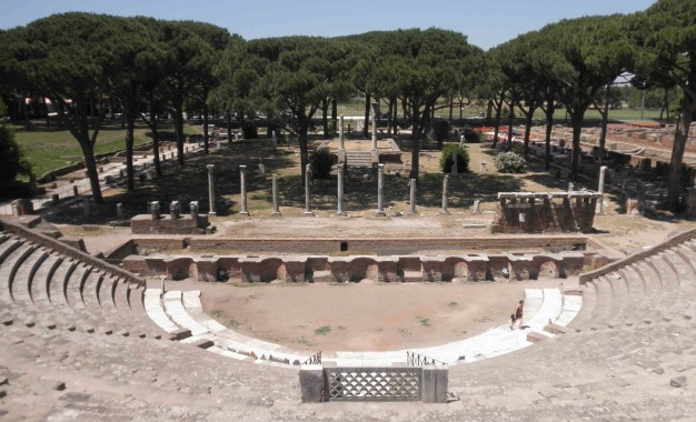 CWA travels to Ostia Antica