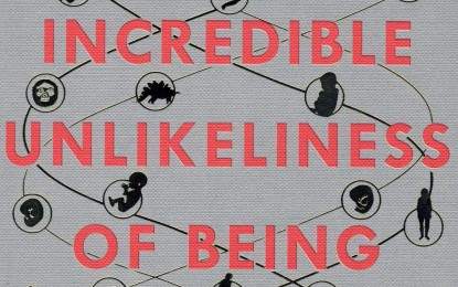 Book review: The Incredible Unlikeliness of Being