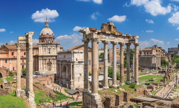 Richard Hodges travels to Rome