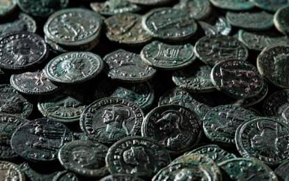 Roman hoard in mint condition