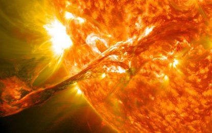 News: Ancient Sun Storms Illuminate the Past
