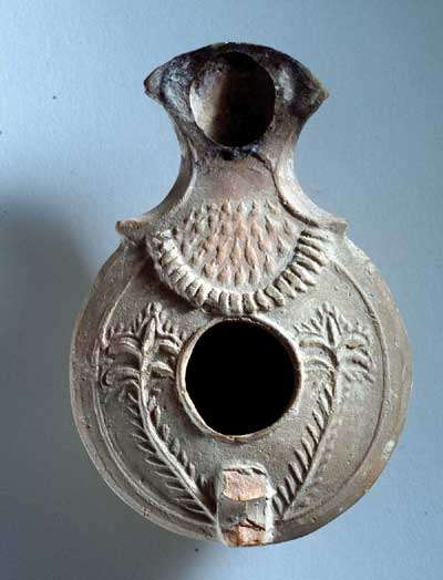 Oil Lamps from  the Holy Land