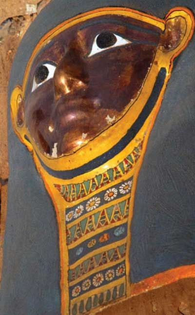 Mummy found at Saqqara