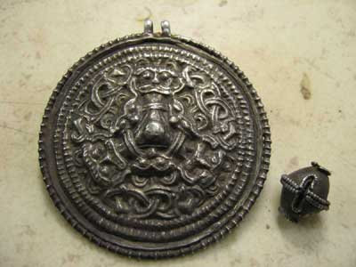 Norway: Medallion and Silver Bead Found