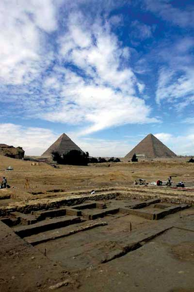 View from the Field: The Great Pyramid Egypt